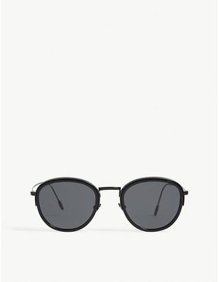 Emporio Armani Ar6068 round-frame sunglasses