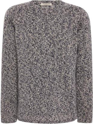 Fioroni Marled Shetland-Cashmere Sweater