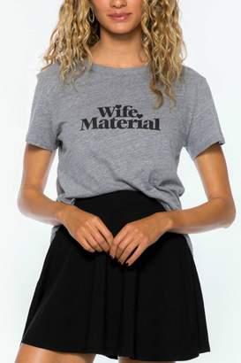 Sub Urban Riot Suburban riot Wife Material Tee