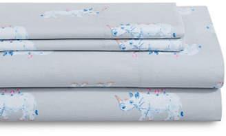 Martha Stewart Whim 200-Thread Cotton Four-Piece Sheet Set