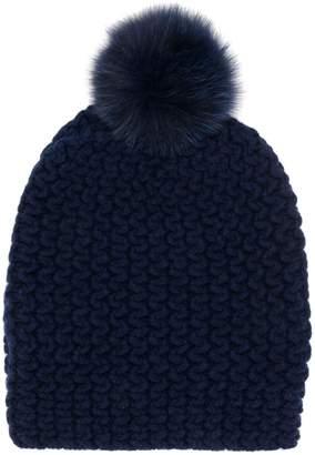 Danielapi pom-pom knitted hat