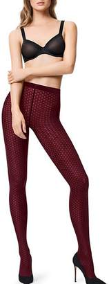 Wolford Mira Polka Dot Tights