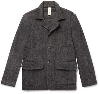 MAN 1924 Wool-Herringbone Jacket