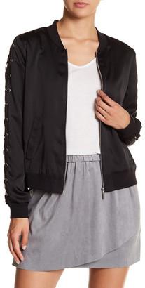 Kensie Lace-Up Jacket $99 thestylecure.com