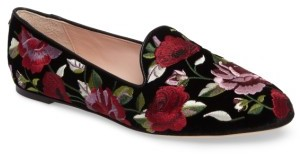 Women's Kate Spade New York Swinton Embroidered Loafer $228 thestylecure.com