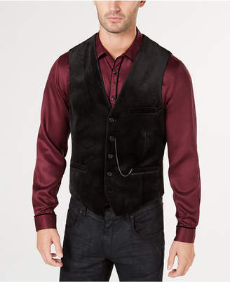 INC International Concepts I.n.c. Men's Slim-Fit Velvet Vest, Created for Macy's