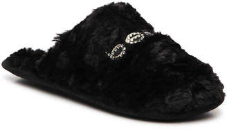 Bebe Charee Bling Scuff Slipper - Women's