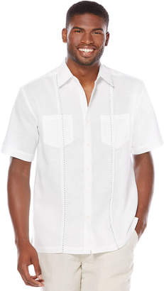 Cubavera Short Sleeve 2 Upper Pockets With Front Tucking
