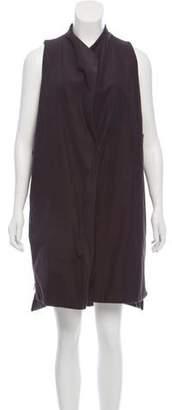 Hache Sleeveless A-Line Dress