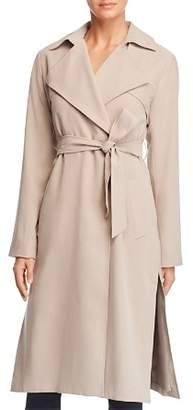 Cole Haan Player Button Front Trench Coat