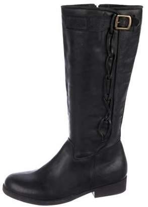 Giorgio Brato Leather Flat Boots