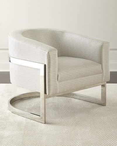 BernhardtBernhardt Dorota Houndstooth Chair