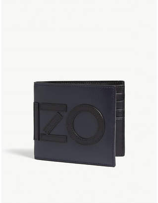 Kenzo Logo leather wallet