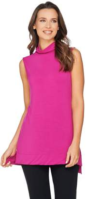 Halston H By H by Essentials Sleeveless Turtleneck Knit Tunic