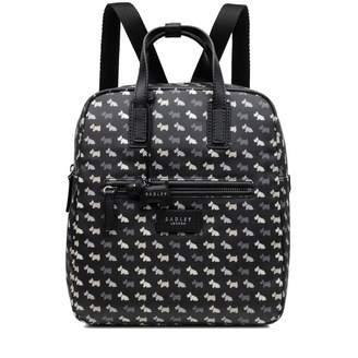 Radley Multi Dog Medium Zip Around Backpack