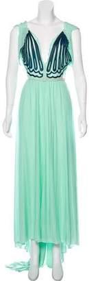 Fendi Jersey Maxi Dress