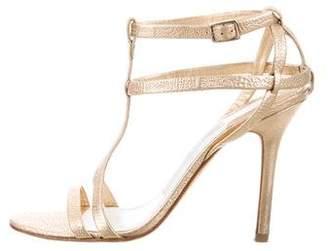 Camilla Skovgaard Metallic Leather Sandals