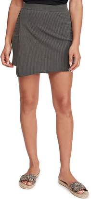 Free People Mod Faux Wrap Miniskirt