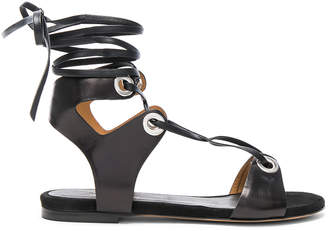Isabel Marant Leather Jaysta Sandals