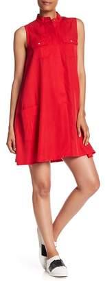 Hope & Harlow Pocket Sleeveless Dress
