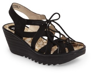 Women's Fly London Yapi Wedge Sandal $184.95 thestylecure.com