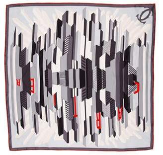 Cartier Printed Silk Scarf