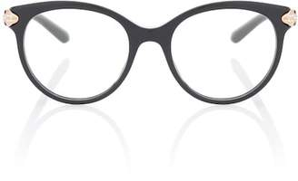 Bvlgari EYEWEAR Serpenti round glasses