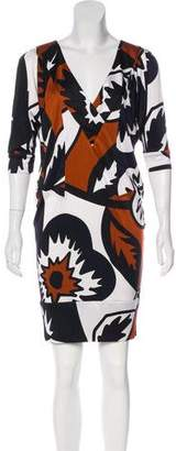 Diane von Furstenberg Knit Silk Dress