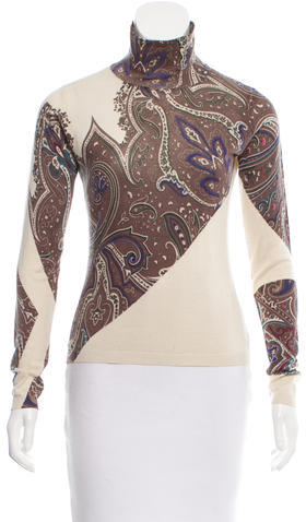 EtroEtro Silk & Cashmere-Blend Sweater
