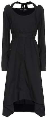 Proenza Schouler Cotton long-sleeve dress