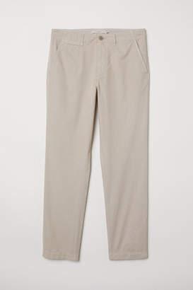 H&M Cotton Chinos - Beige
