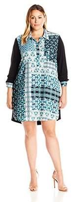 Single Dress Women's Plus Size Riley Shirtdress $115.82 thestylecure.com