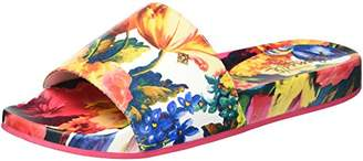 Nanette Lepore Women's Miriam_Print Slide Sandal
