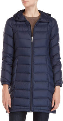 MICHAEL Michael Kors Hooded Down Coat