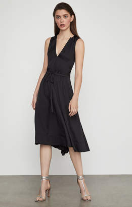 BCBGMAXAZRIA Katia Satin Dress