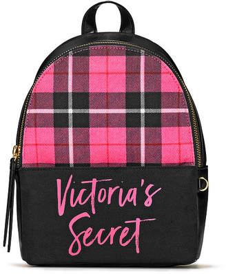 Victoria's Secret Victorias Secret PINK Plaid Small City Backpack