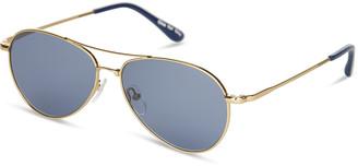 Kilgore 201 Shiny Gold | Zeiss Original Blue Lens
