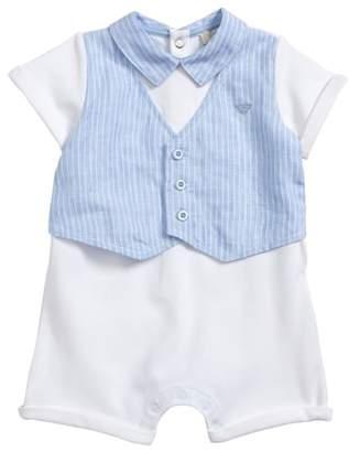 Armani Junior Romper with Vest