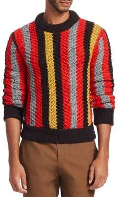 Salvatore Ferragamo Stripe Knit Sweater