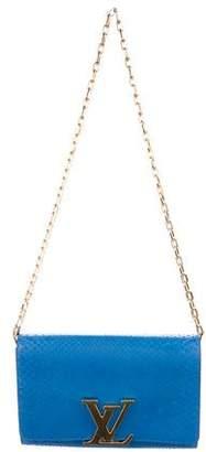Louis Vuitton Python Chain Louise GM