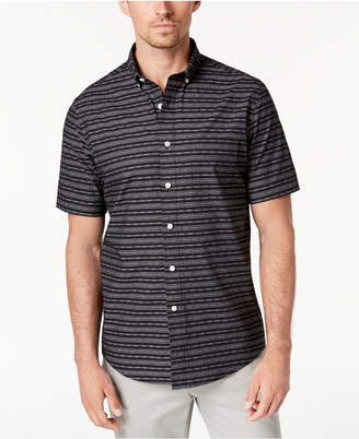 Club Room Men's Leigh Dobby Striped Shirt, Created for Macy's