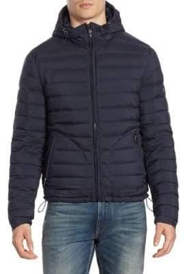 Ralph Lauren Purple Label Barton Hooded Puffer Jacket