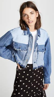 Ksenia Schnaider Reworked Denim Jacket