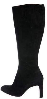 Robert Clergerie Suede Knee-High Boots
