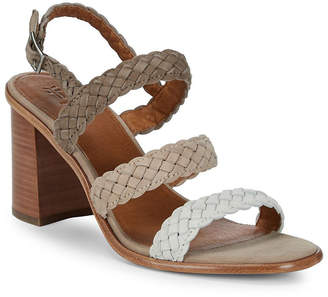 Frye Amy Braided Slingback Sandal