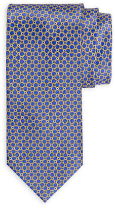 Stefano Ricci Medium-Square Printed Silk Tie