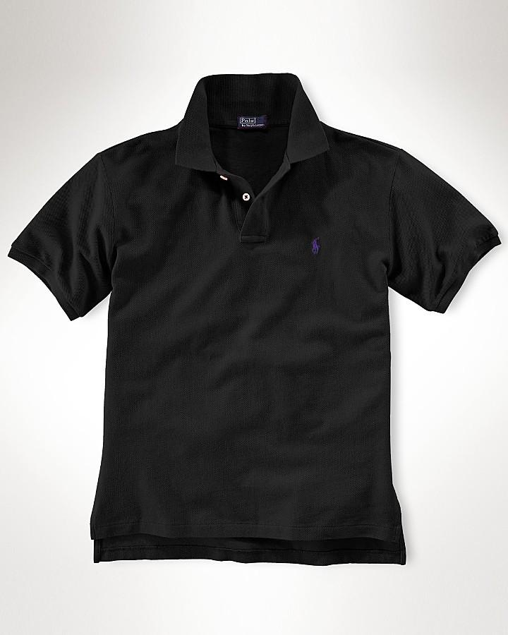 Ralph Lauren Boys Short Sleeved Mesh Polo - Sizes S-XL