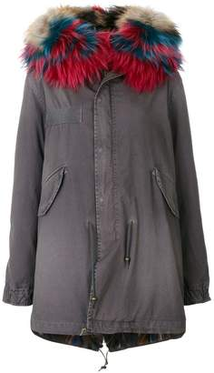 Mr & Mrs Italy fur-lined parka