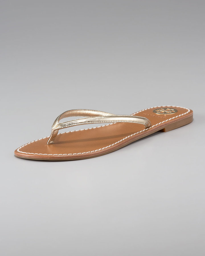 Tory Burch Abitha Leather Flip-Flop