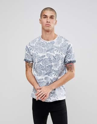 Brave Soul Fern Print T-Shirt